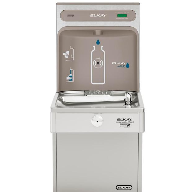 Estación llenadora de botellas de agua Elkay EZH2O con bebedero de agua, alto rendimiento