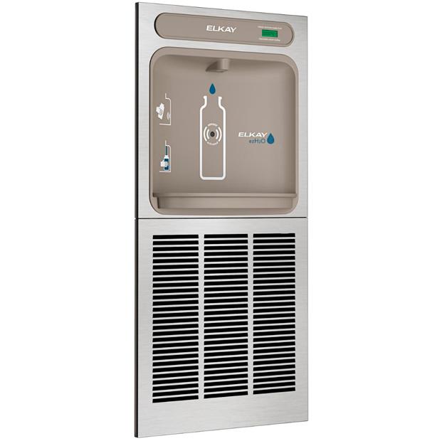 Estación para llenado de botellas de agua empotrable Elkay, modelo EZH2O