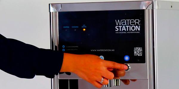 Dispensador de agua sin garrafón WaterStation Serie III
