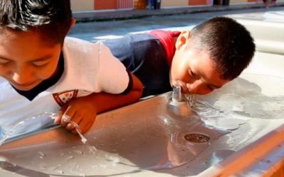 Bebederos escolares: acceso y promoción del agua en escuelas