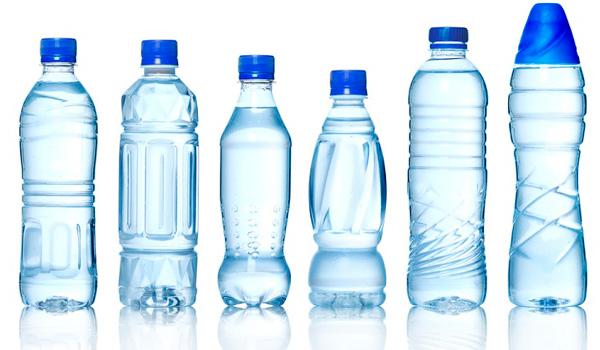 Botellas de agua desechables de plástico PET