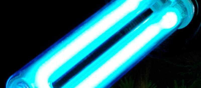 Purificadores de agua con luz UV