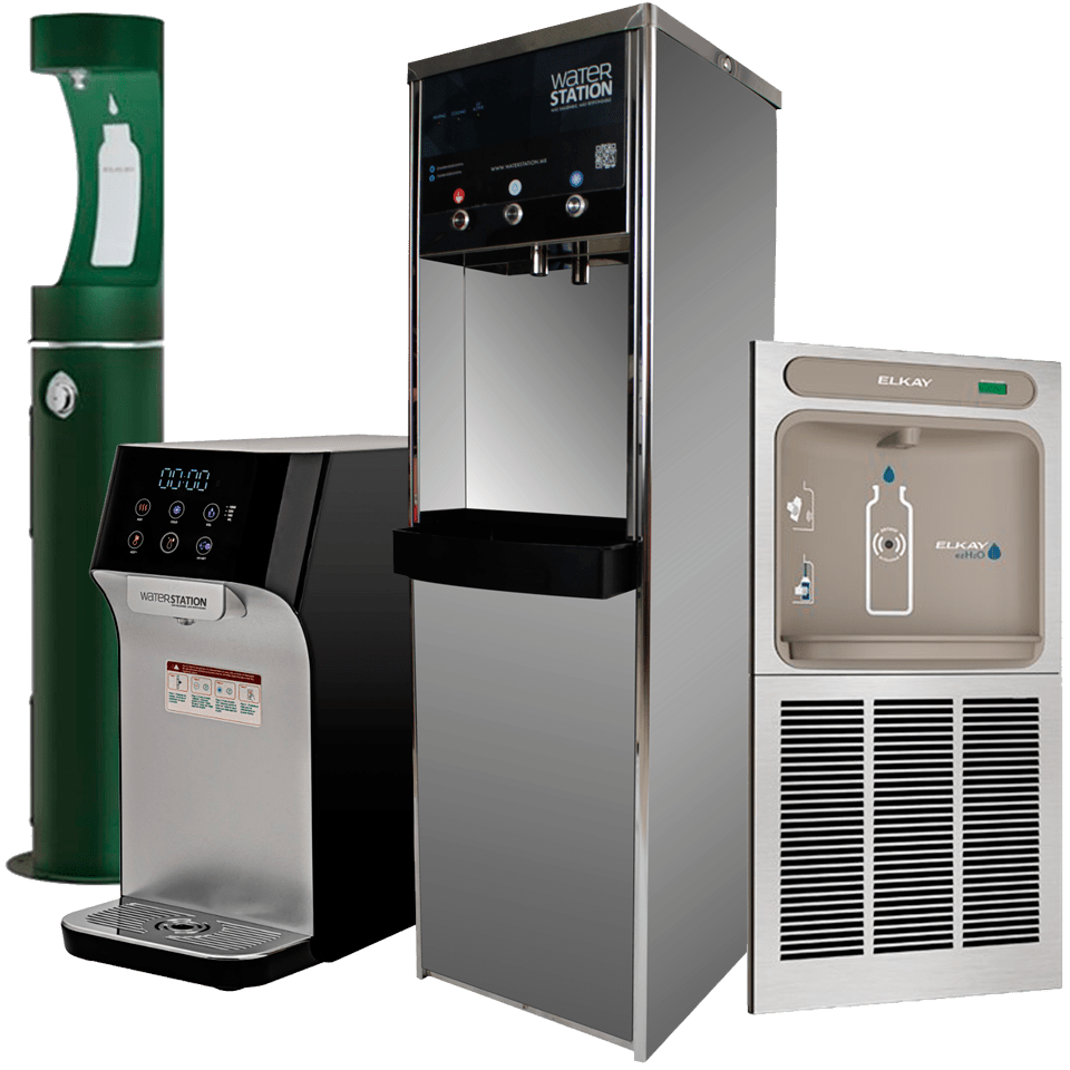 Purificadores y Bebederos de Agua WaterStation